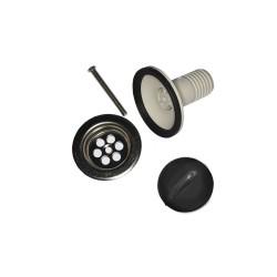 Valvula de fregadero - ø30mm - plastico - (envasado)