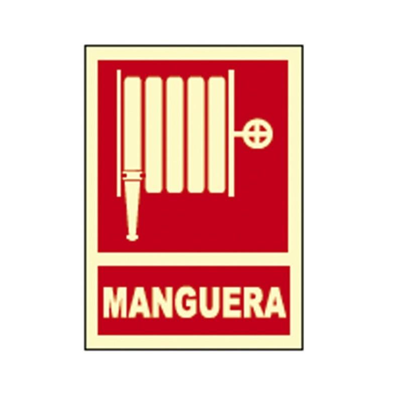 *ult. unidades* cartel señal manguera fotoluminiscente  homologado